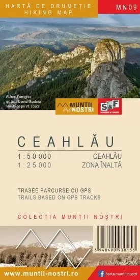 Harta Drumetie Muntii Ceahlau