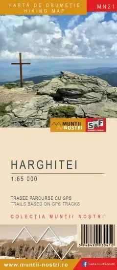 Harta Drumetie Muntii Harghitei