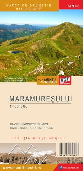 Harta Drumetie Muntii Maramuresului